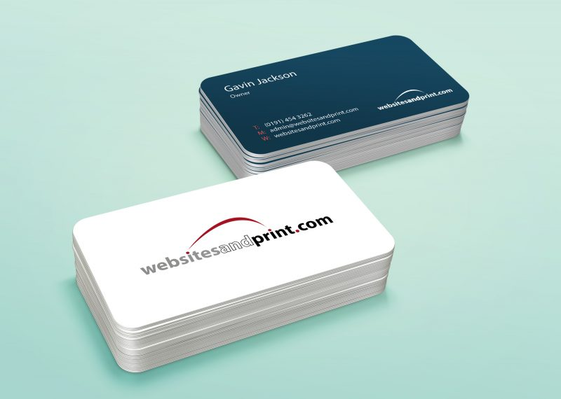 websites and print business cards