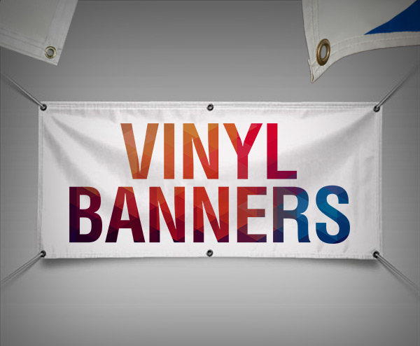 PVC banners by websites and print